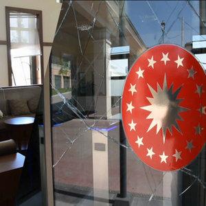 Beştepe'deki hasar kamerada