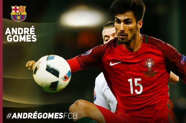 Barcelona, Andre Gomes'i transfer etti!