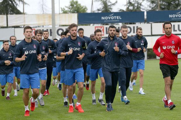 Trabzonspor'a günde 3 idman