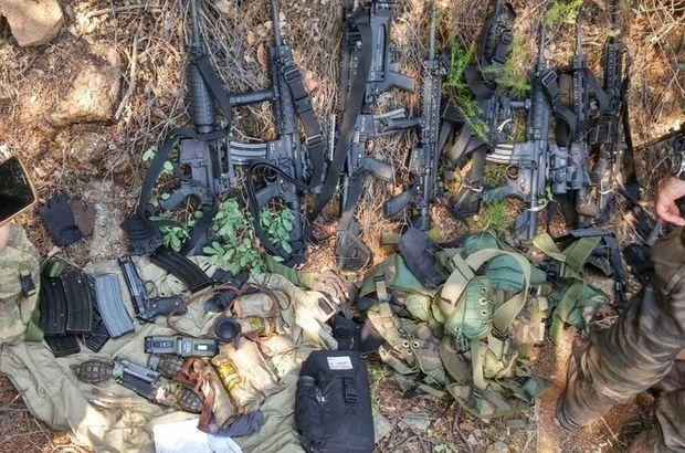 Marmaris'te ormanlık alanda silah bulundu
