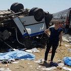 Manisa'da hemzemin geçitte kaza: 6 ölü