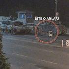 Boğaziçi Köprüsü'nde bir kadın darbeci askerlerin karşısında tek başına durdu