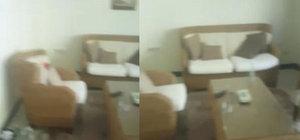 İşte Erdoğan'ın çalışma ofisi ve korumalarının kaldığı odadaki saldırının izleri