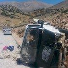 Antalya'da piknik yolunda trafik kazası