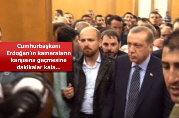 İşte Cumhurbaşkanı Erdoğan'ın 15 Temmuz darbe girişiminde Atatürk Havalimanı'ndaki konuşmasının öncesi
