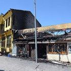 Eskişehir'de yangın: 4 iş yeri hasar gördü