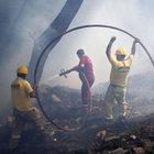 Manisa ve İzmir'de orman yangınları