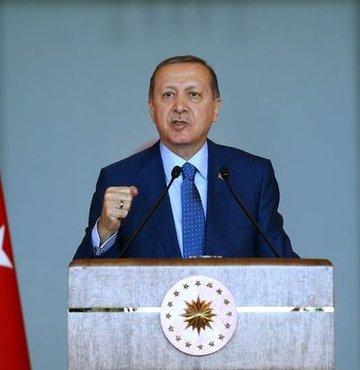 Cumhurba�kan� Recep Tayyip Erdo�an, 15 Temmuz darbe giri�imi sonras� demokrasi mesaj� veren liderleri Cumhurba�kanl��� K�lliyesi