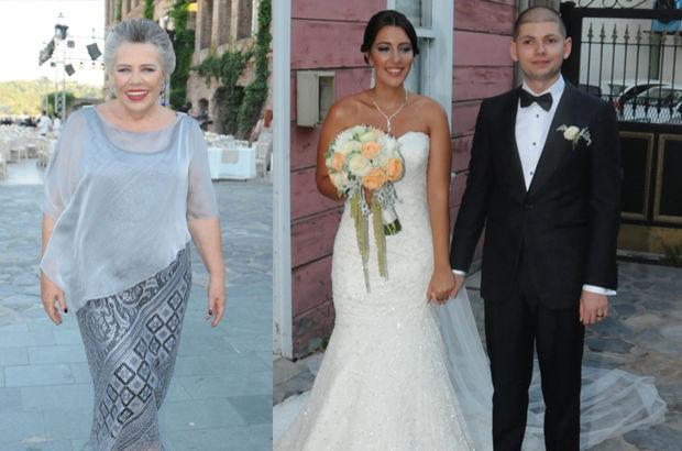 Işıl Yücesoy'un kızı evlendi