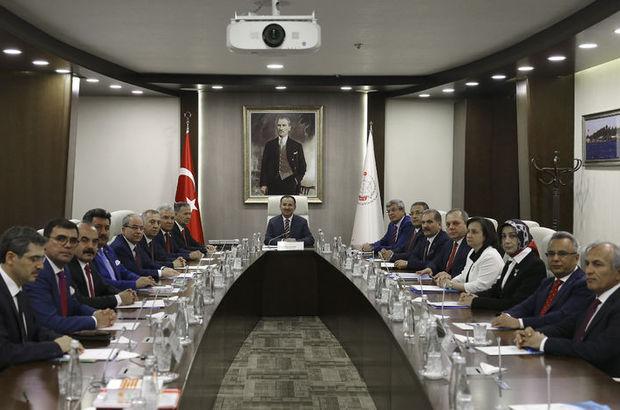 HSYK, Yeni Yargıtay Üyeleri ve Yeni Danıştay Üyeleri için listeyi açıkladı