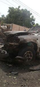 Somali'de havaalanı yakınlarında bombalı saldırı