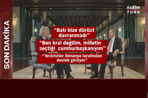 Cumhurbaşkanı Erdoğan: Meclis'i bombalayarak halkı hedef aldılar
