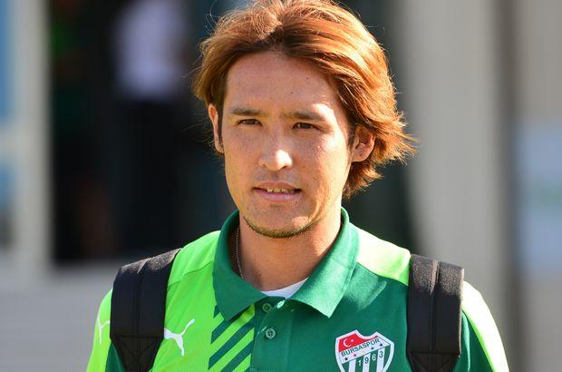 Bursaspor'dan Hajime Hosagai'ye başarı dileği
