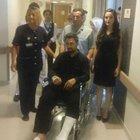Gazi polis Ferdi Akgün'ün nikahı hastanede kıyılacak