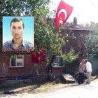 Şehidin Yığılca'daki ailesine acı haber verildi