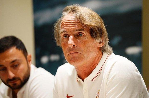 Galatasaray Teknik Direktörü Jan Olde Riekerink'ten transfer açıklaması
