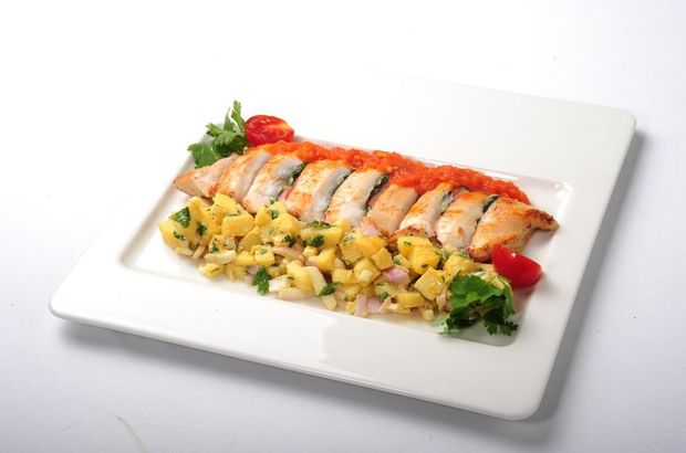 Pirinçli Tavuk Sarma nasıl yapılır? Diyet Yemek Tarifleri