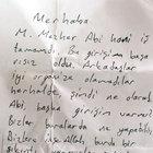 FETÖ elebaşının yeğeni Mehmet Mezher Gülen'e cezaevinde not