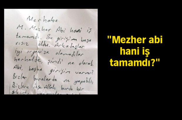 FETÖ elebaşı Gülen'in cezaevindeki yeğenine not!