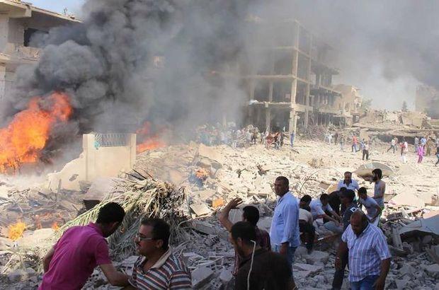 Suriye'de şiddetli patlamalar! Türkiye'den de yaralananlar var