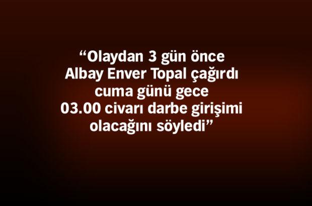 TRT'de sözde darbe bildirisini okutan FETÖ'cü Yarbay'ın ifadesi