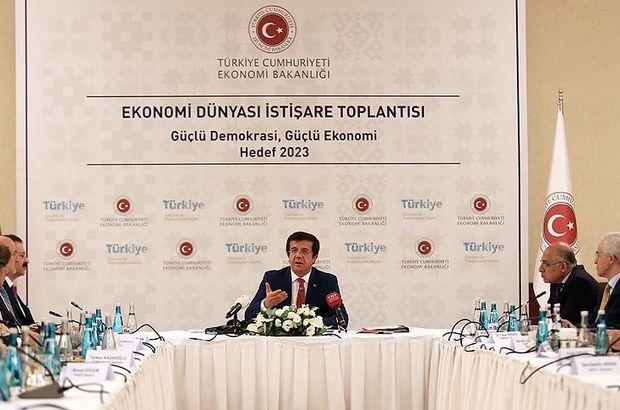 Ekonomi Bakanı Zeybekci STK başkanlarıyla buluştu
