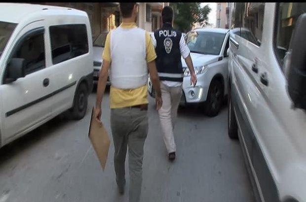 İstanbul'da eş zamanlı polis operasyonu
