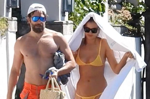 Irina Shayk ile Bradley Cooper İtalya'da