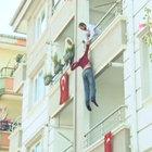 Ankara'da bir çocuk babası tarafından rehin alındı