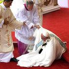Papa Franciscus görünmez kaza yaşadı