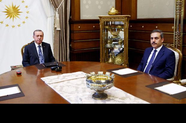 Erdoğan Fidan'la 1.5 saat görüştü