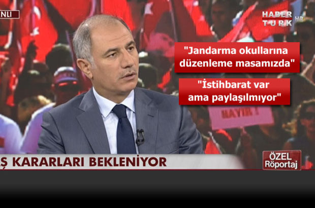 İçişleri Bakanı Ala: Bu darbe girişiminin siyasi ayağı kesine yakın bir ihtimalle vardır