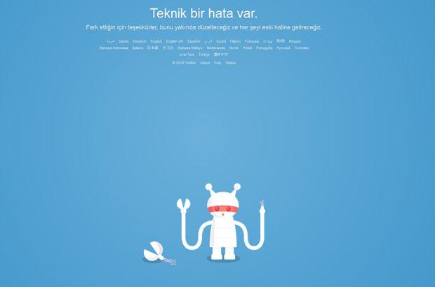 Twitter'da sorun!