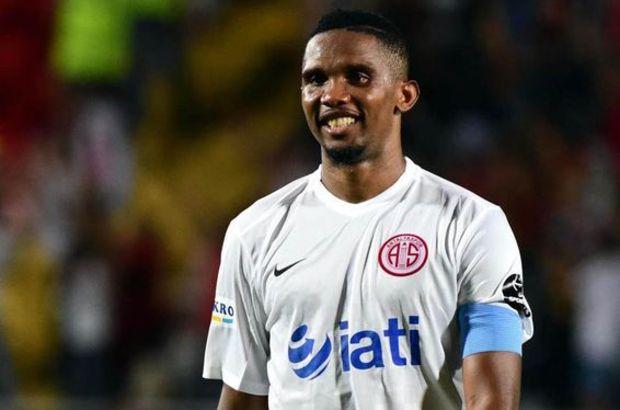 Antalyaspor, Samuel Eto'o'nun balka bir külübe transferinin mümkün olmadığı açıkladı