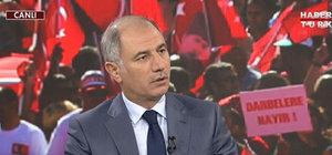İçişleri Bakanı Ala Habertürk TV'de
