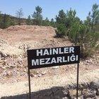 """Pendik'teki mezarlıktan """"Hainler Mezarlığı"""" tabelası kaldırıldı"""
