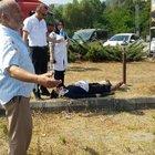 Düzce'de doğuma giden aile kaza yaptı
