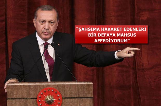 Recep Tayyip Erdoğan Beştepe'de