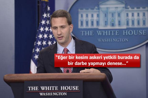 """Beyaz Saray'dan """"FETÖ"""" açıklaması"""