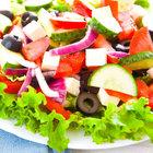 Diyet Akdeniz Salatası nasıl yapılır?