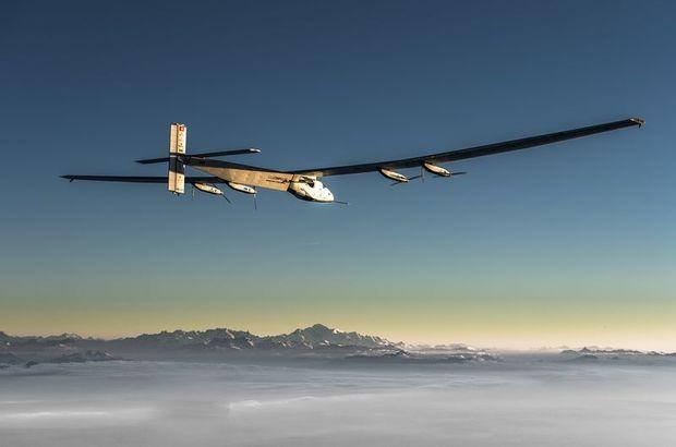Solar Impulse tarihe geçti: Dünyayı 21 günde turladı