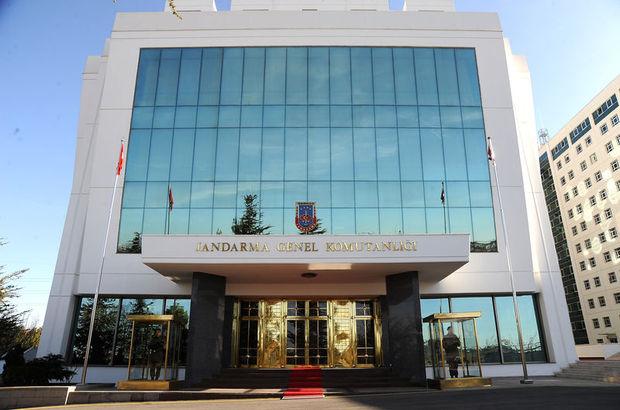 Jandarma'da terfiler açıklandı