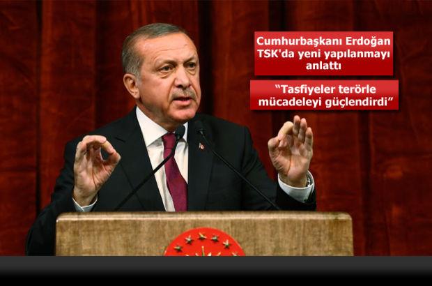 Cumhurbaşkanı Erdoğan: 'Askeri okullar kapatılacak, Milli Savunma Üniversitesi kurulacak'