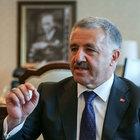 Bakan Ahmet Arslan açıklamalarda bulundu