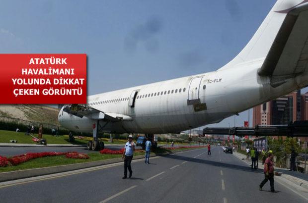 Yeşilköy'de yola çıkan uçağın restorant yapılacağı anlaşıldı