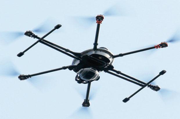 Suriye sınırında 'Drone' ele geçirildi