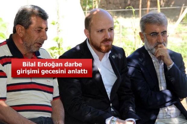 Bilal Erdoğan, darbe girişimi gecesini anlattı: Babadan öğrendiğimiz hep hazırlıklı olmak