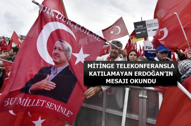 Avrupalı Türkler Köln meydanını doldurdu!