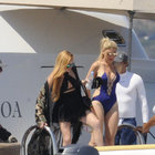 Lindsay Lohan'ın bikinisi olay oldu