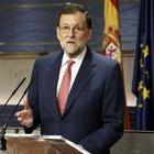 İspanya Başbakanı Mariano Rajoy basın açıklaması yaptı
